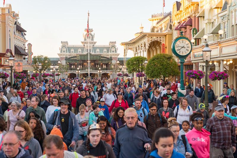 Magic Kingdom Spring Break Crowds