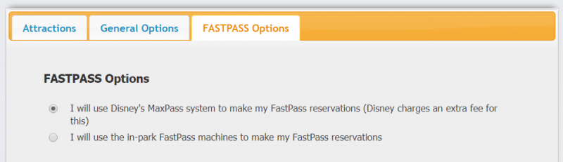 Using MaxPass with RideMax